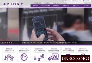 海外FX会社AXIORYアキシオリー口座開設