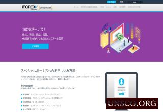 海外FX会社iFOREXアイフォレックス口座開設